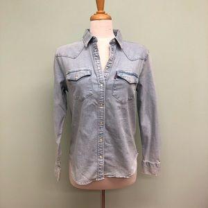 Levi's Denim Long Sleeve Shirt (PM334)